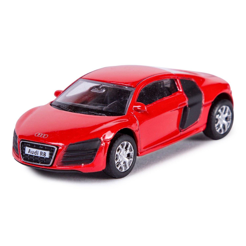 Máquina de mobicaro Audi R8 V10 164 rojo