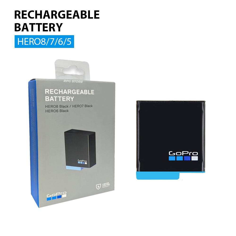 GoPro-batería recargable oficial HERO8 Original, accesorios para Hero 8 Black/HERO7 Black/HERO6 Black
