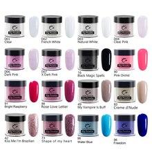 Dip Pulver Polnisch Cure Lange-Anhaltenden Klaren Rot Glitter Für nail art Salon Acryl Pulver Tränken Weg Von Flüssigen Dips farbe Staub Pigment