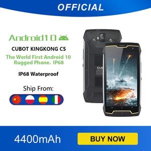 Cubot KingKong CS Google Android 10 система IP68 Водонепроницаемый телефон Смартфон 5 дюймов 4400мАч большая батарея Dual SIM Card Спортивный смартфон Защитный теле...
