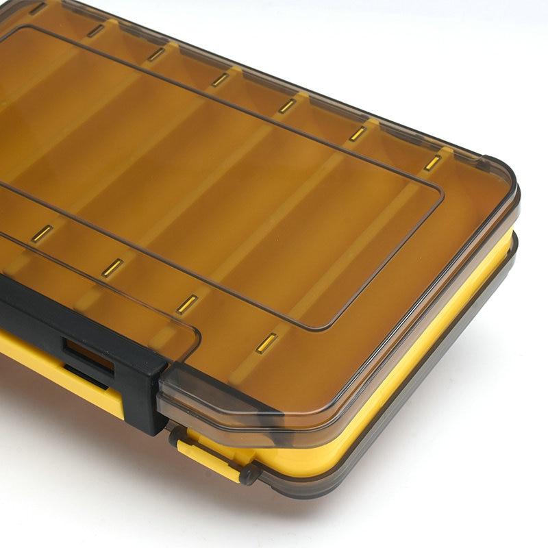 ALLBLUE הפיך פיתוי מקרה 12 & 14 חדר כפול צדדי פלסטיק פיתיון לנענע אחסון תיבת חוזק גבוהה קרס דיג אבזר קופסות