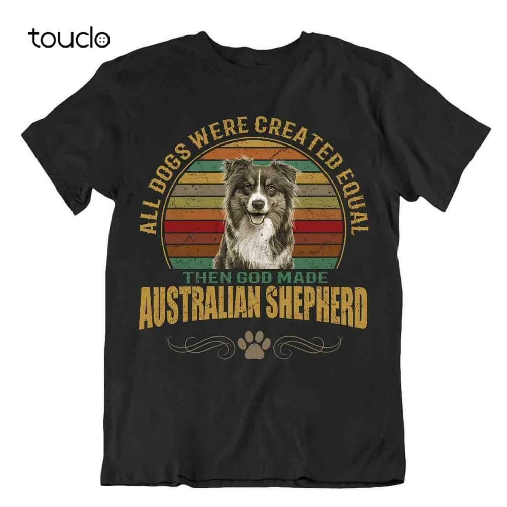 Australian Shepherd T-Shirt Gift Dogs Tshirt Pet Lovers Birthday Present Friend tee shirt