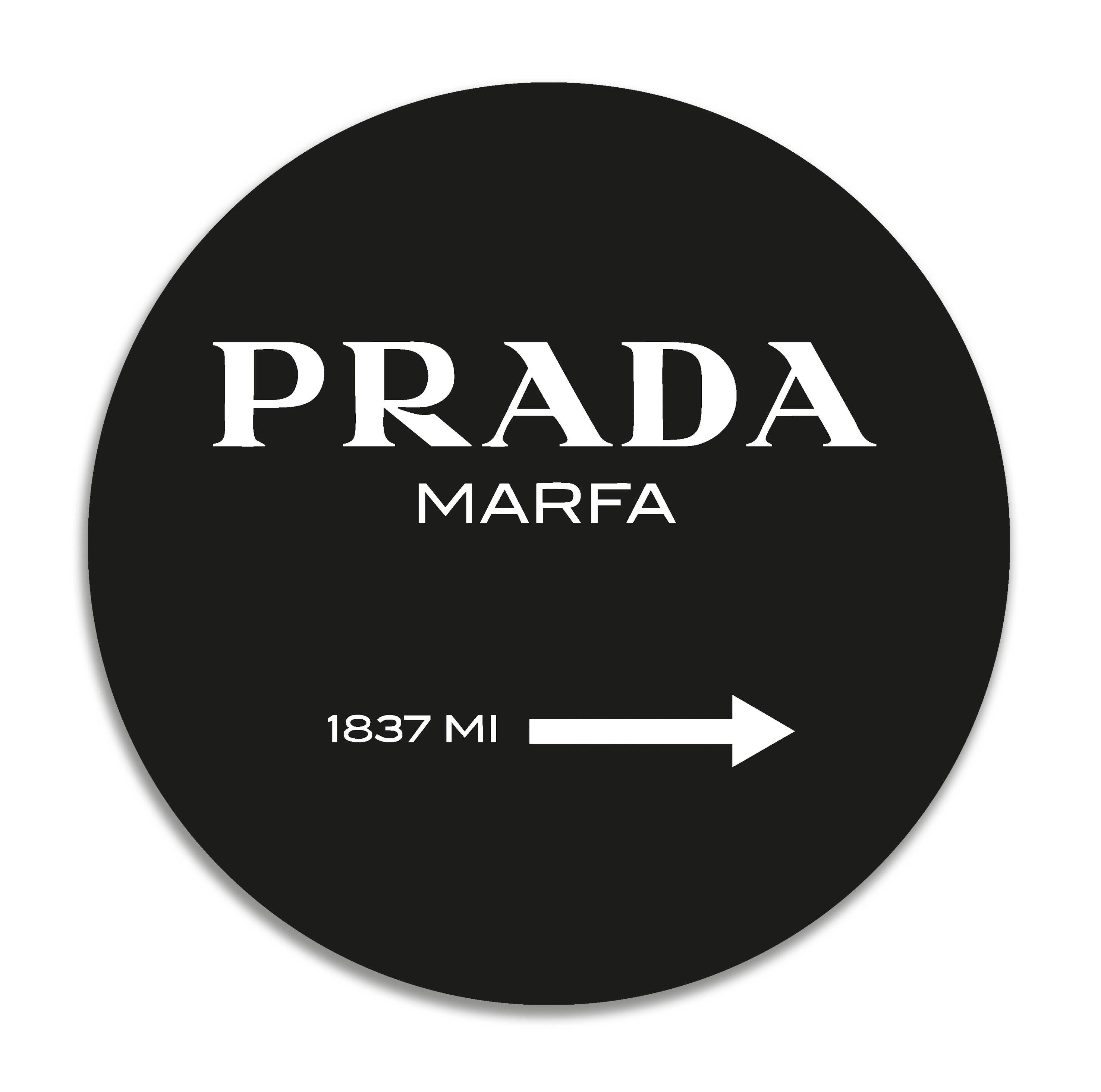 Panorama Alfombra Vinílica Prada Marfa Redonda - Alfombra Cocina Vinilo - Alfombra Salón Antideslizante, Antihongos e Ignífuga