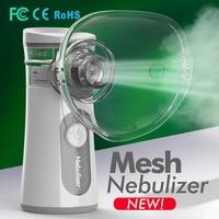 Nebulizer Portable Inhaler Mesh Nebulizer Rechargeable Ultrasonic Atomizer kids Adult Respirator Home Health Care Nebulizador