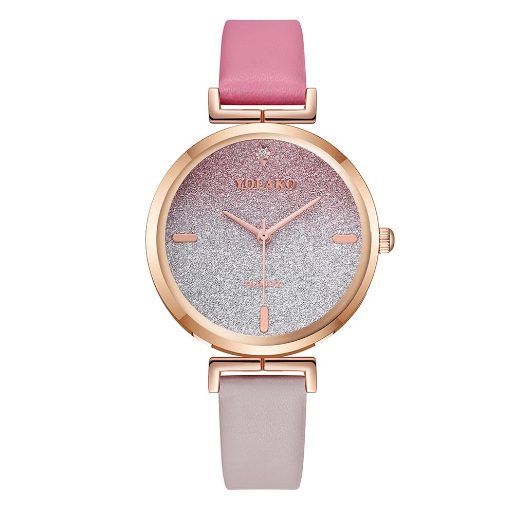 Hot Sale Fashion Women's Watches Leather Ladies Watch Women Watches Young Girl Watch Simple Clock re