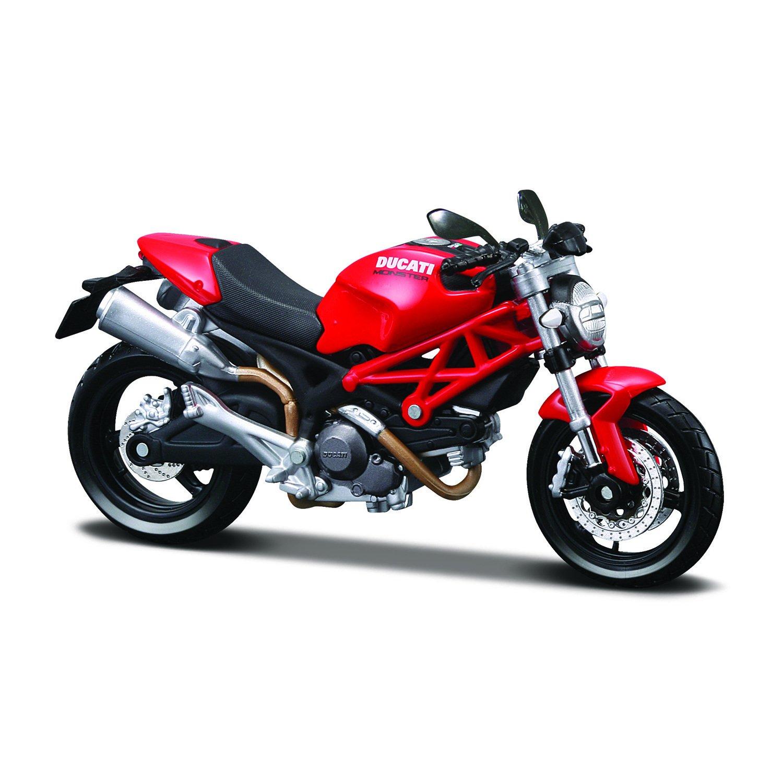 Moto Maisto 112 Ducati monstre 696 rouge 20-10012