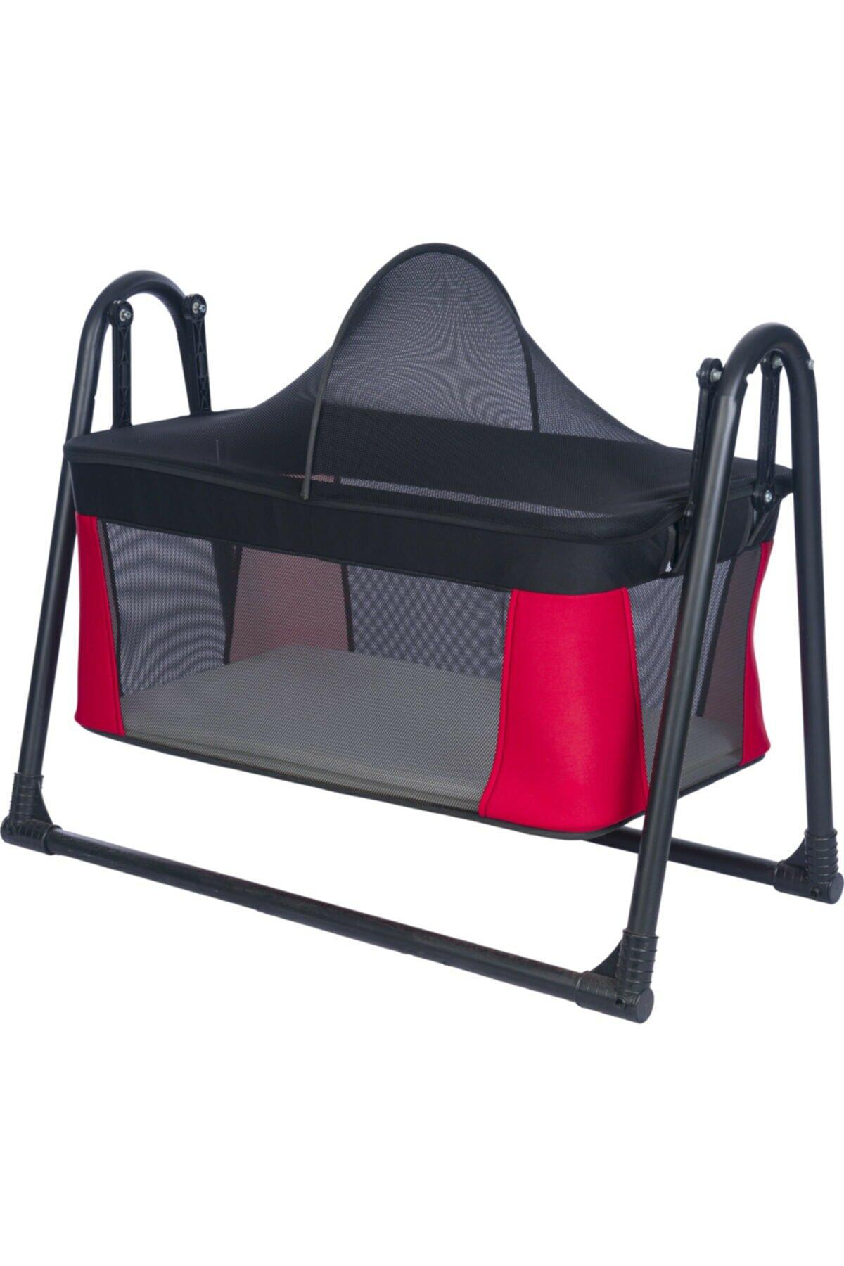 Luxury Portable Rocking Basket Baby Cradle Child Hammock Portable Installation Sway Retractable Bedroom Baby Room Color enlarge