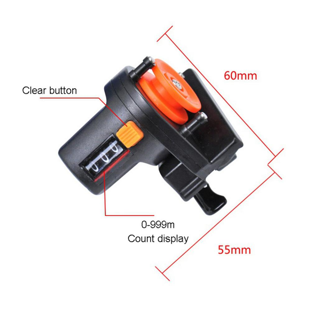 1pc 6cm Fishing Line 0-999m  Depth Finder Counter Tool Tackle Lengt Tackle Fishing Accessories enlarge