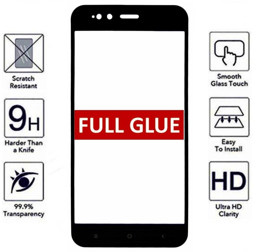 XIAOMI MI A1 / MI 5X / MIA1 / MI5X full glue black tempered glass mobile phone accessories