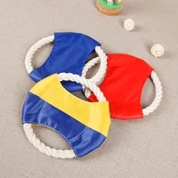 1pc funny flying saucer dog toys interactive dog chew toys resistance bite outdoor dog flying discs pet supplies