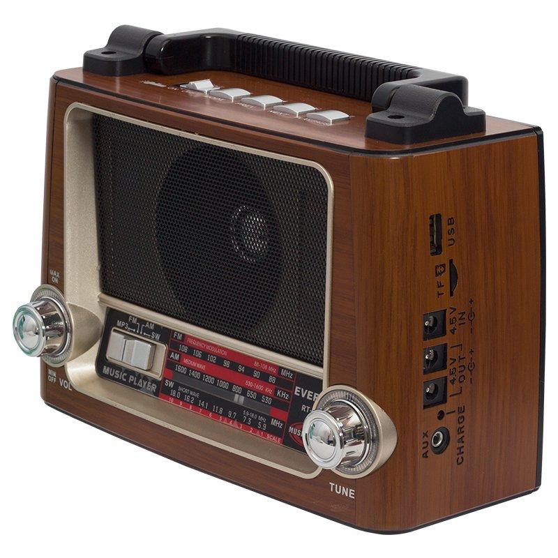 RT-855 nostálgico iluminado Everton USB-SD-FM