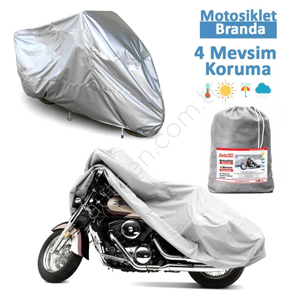 AutoEN Miflonlu Motorcycle Canvases Waterproof Lux Quality-Motor Awnings for uv and cold rain protecting tarpaulin