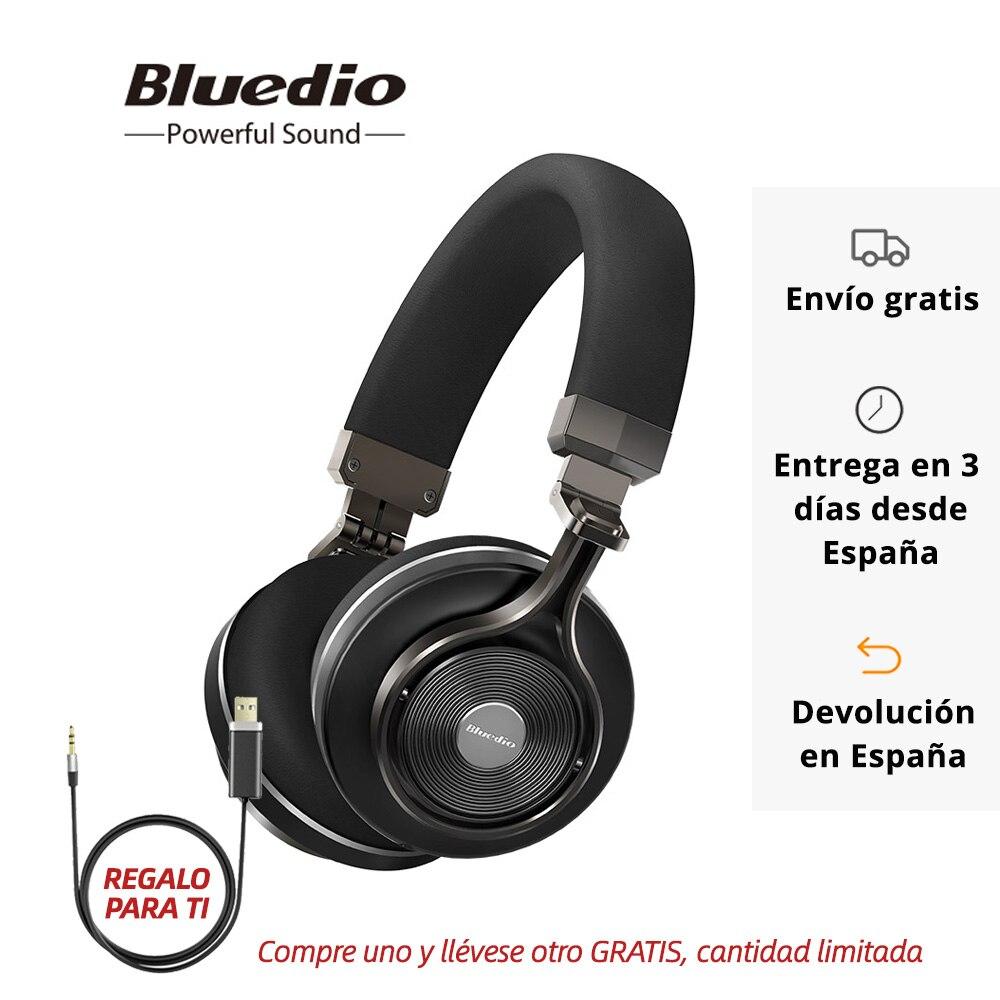 Bluedio T3 Auriculares Bluetooth Inalámbricos con Estéreo Bluetooth 4.1 y Micrófono Auriculares con Nuevo Efecto de Sonido 3D