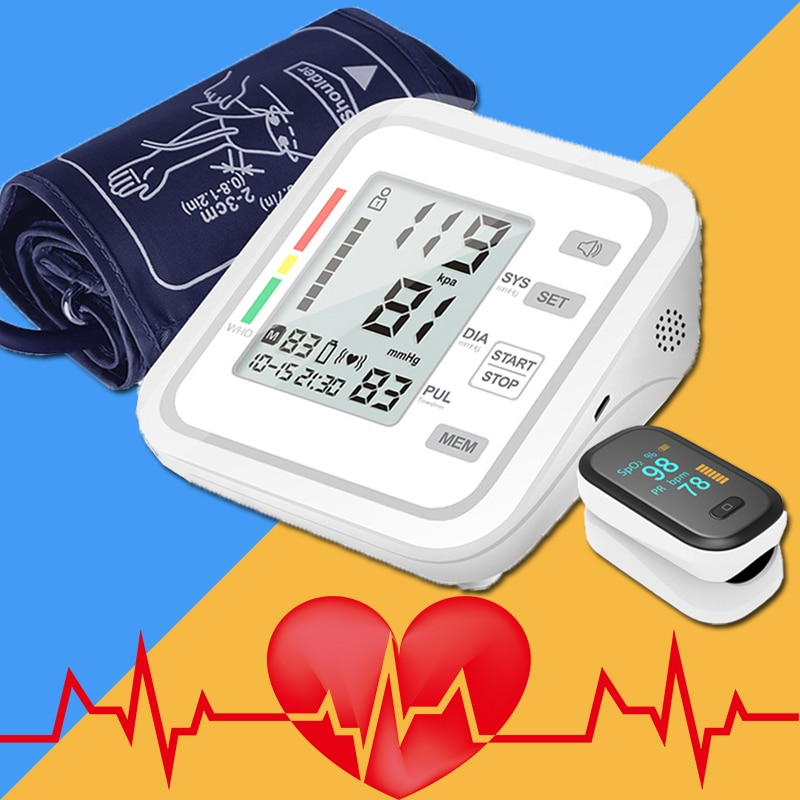 Arm Blood Pressure Meter Oximetro Pressure Monitor Blood Pressure Monitor Health Care Pressure Monit