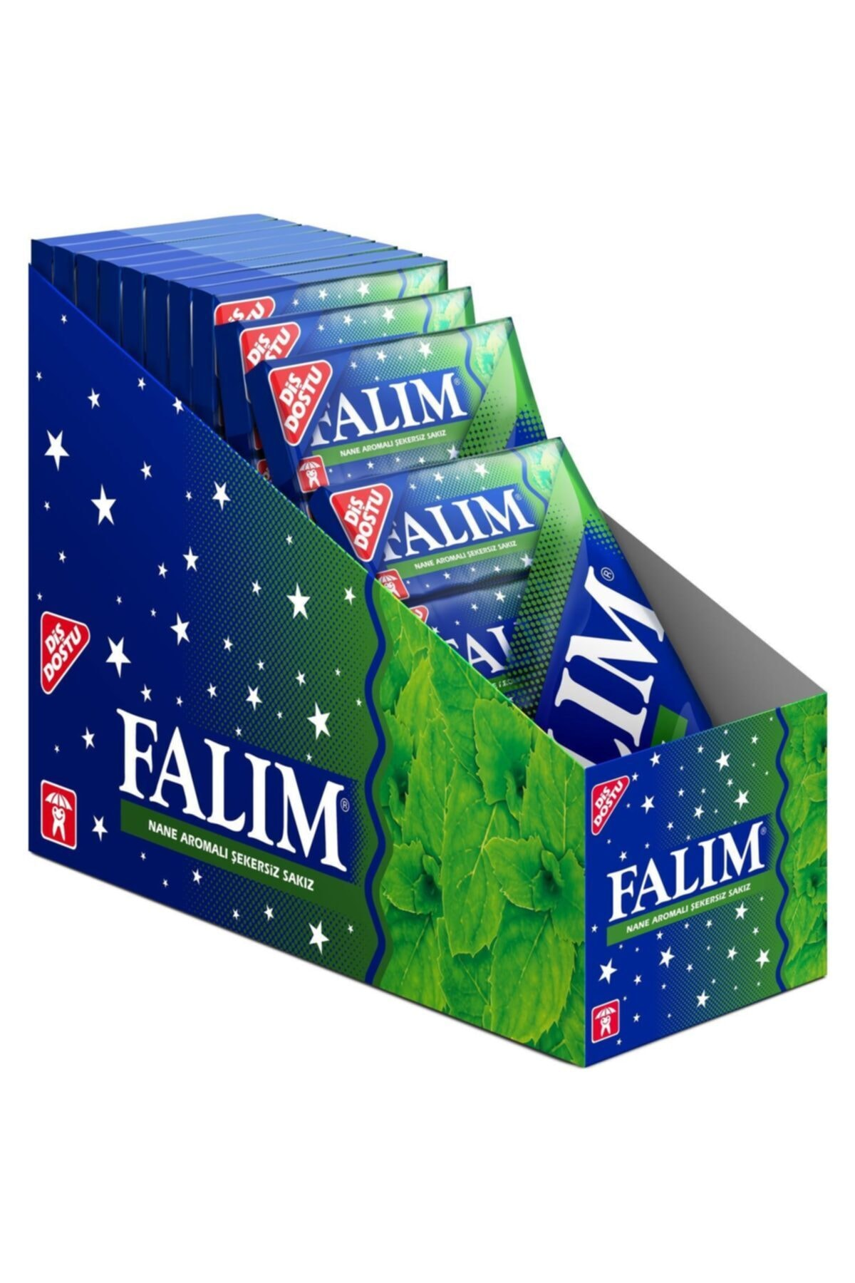 Falim 5 Pack Mint Flavored Gum 35gr 20 Pieces  FREE SHİPPİNG