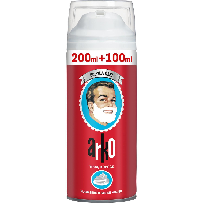 Arko Парикмахерская Мыло для бритья с ароматом пена 300 мл мыло для бритья, сексуальные игрушки для мужчин, пена для бритья лосьон после бритья ...