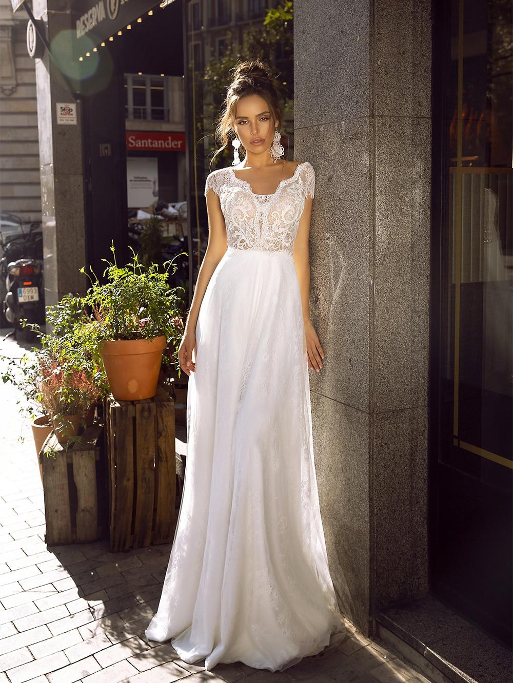Boda Vestido De Encaje Vintage vestidos De Novia De encaje Vestido De...