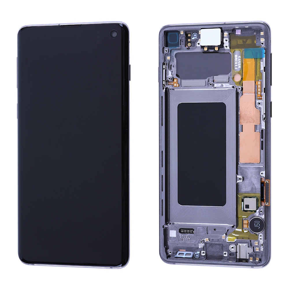 100% OEM Display for Samsung Galaxy S10 S10e Plus  Display Touch Screen Digitizer Assembly With Touch ID Part enlarge