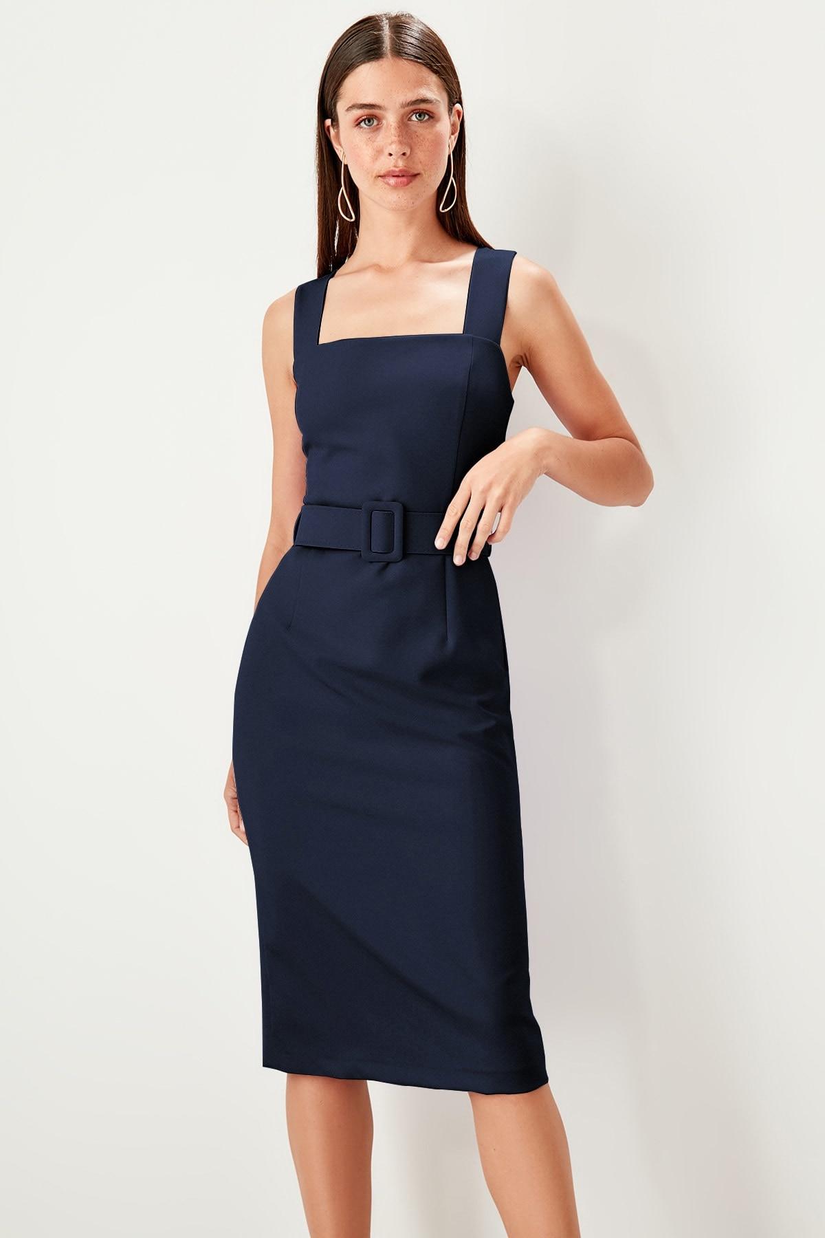 Trendyol Arched Dress TWOSS19EL0185