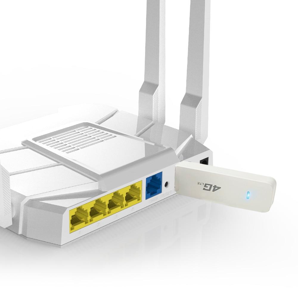 Cioswi 4G موزع إنترنت واي فاي دونغل هوائي CPE موبايل لاسلكي LTE مودم USB سيم فتحة للبطاقات جيب هوت سبوت دعم أي تردد الفرقة