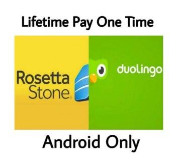 [2 en 1] Duolingo Pro + rosetta-stone-Premium apprendre la langue Android APK [MOD] Premium