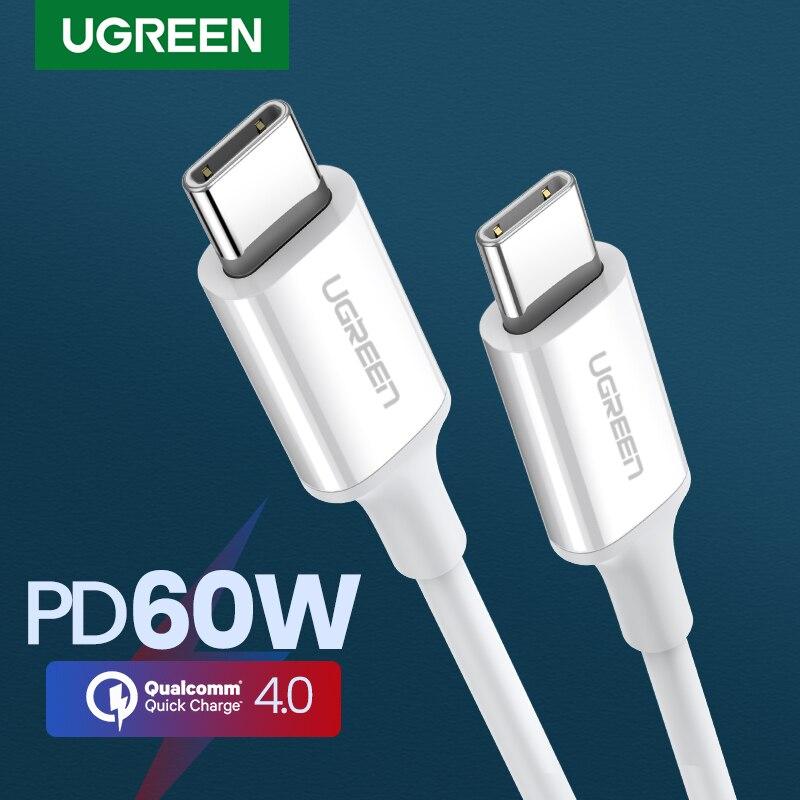 Ugreen-Cable USB tipo C para Macbook, Samsung S9 Plus, Cable de datos...