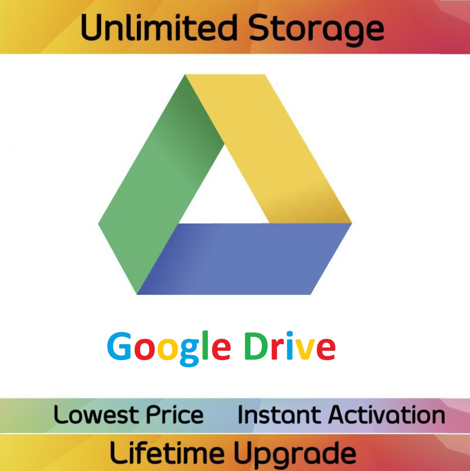 New Account G00gle D'rive With Unlimited Storage Fast Delivery