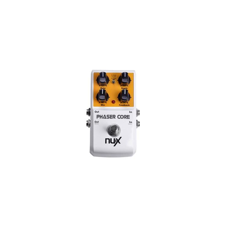 Núcleo phaser nux phaser pedal de efeito