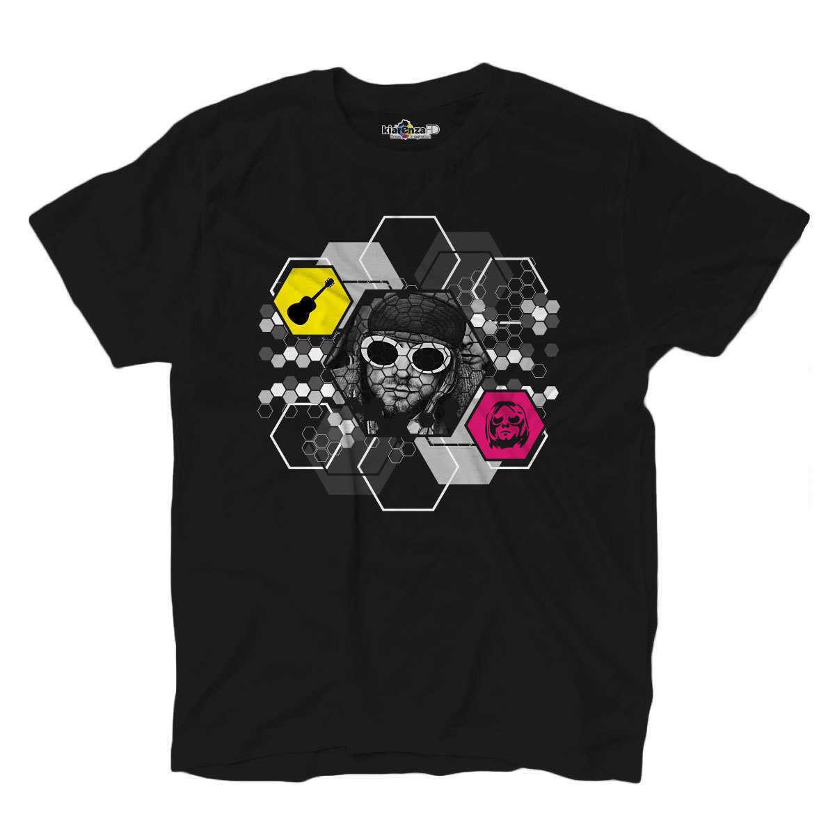 Мужская футболка Поп Рок суперзвезда Легенда гранж фронтман Гитара S