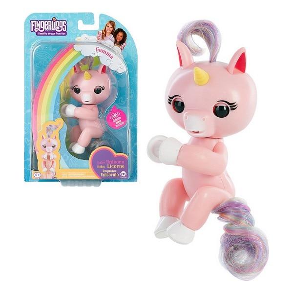 Muñeco Unicorn Gemma Fingerlings Rosa 117078