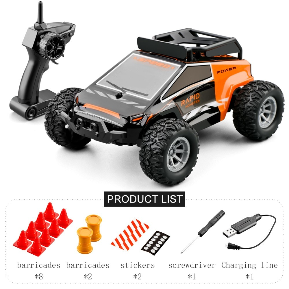 2021 RC Cars Mini Remote Control Car for Kids 2.4GHz 1:32 RC Car With LED Light 20KM/H High Speed Hi