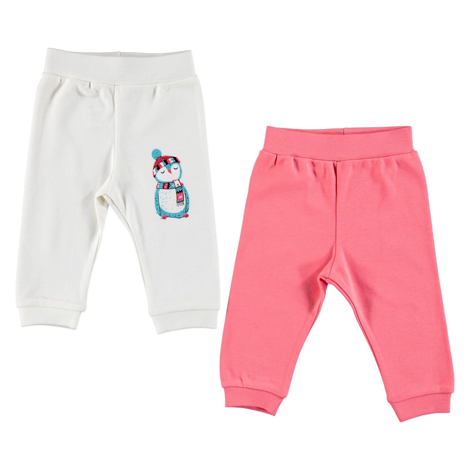 Ebebek HelloBaby Baby pantalones sin pies 2 uds