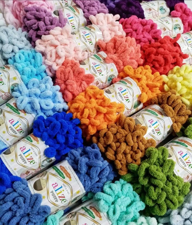 Alize Puffy Воплощенная пряжа амигуруми, 5 лотов/шарики, 100 г, без игл, без крючка, вязание крючком, амигуруми, вельветовое плюшевое мягкое детское одеяло, объемная петля
