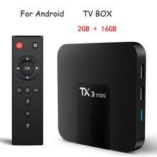 1/5/10 PCS TX3 Mini Tv Box Smart 5G Wifi Smart Quad-core Wireless Network Set Top Box Dual Frequency