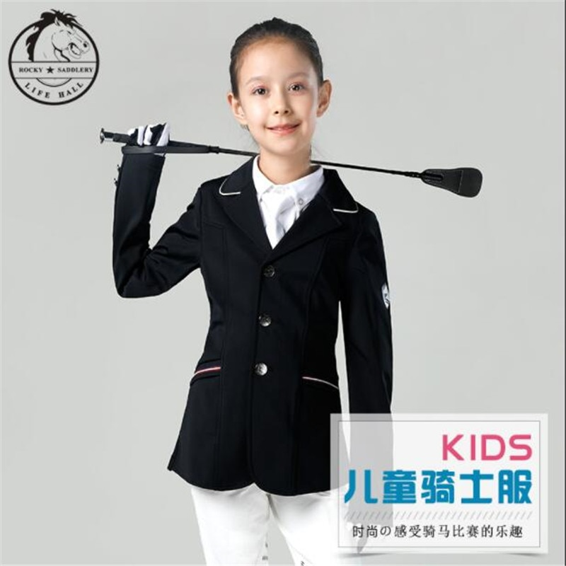 Cavassion Outdoor Sports Equestrian Equipment when Kids Knight riding horses Professional Equestrian Clothes