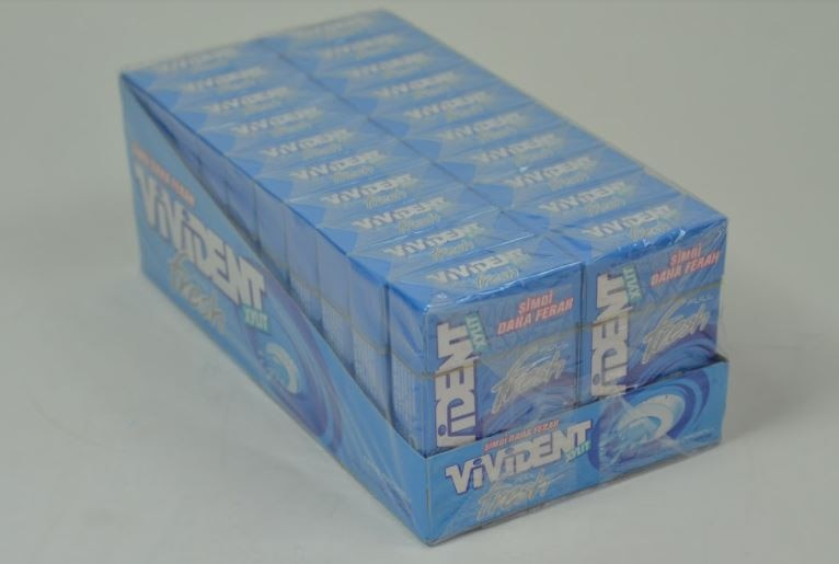 VIVIDENT FULL FRESH CLEAN & FRESH BREATH-20 PACKAGE