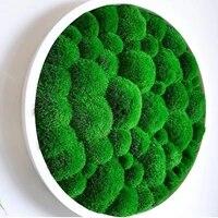 MossArt deco protege boule mousse jardin ornement de haute qualite maison decorative mur accessoires boite materiel Mini jardin