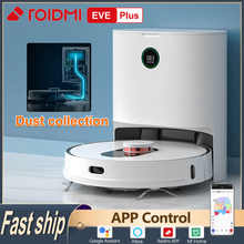 Roidmi Eve Plus Robot Vacuum Cleaner Smart Home Sweeper Machine Mi Home App Control Floor Household Cleaning Dust Collection