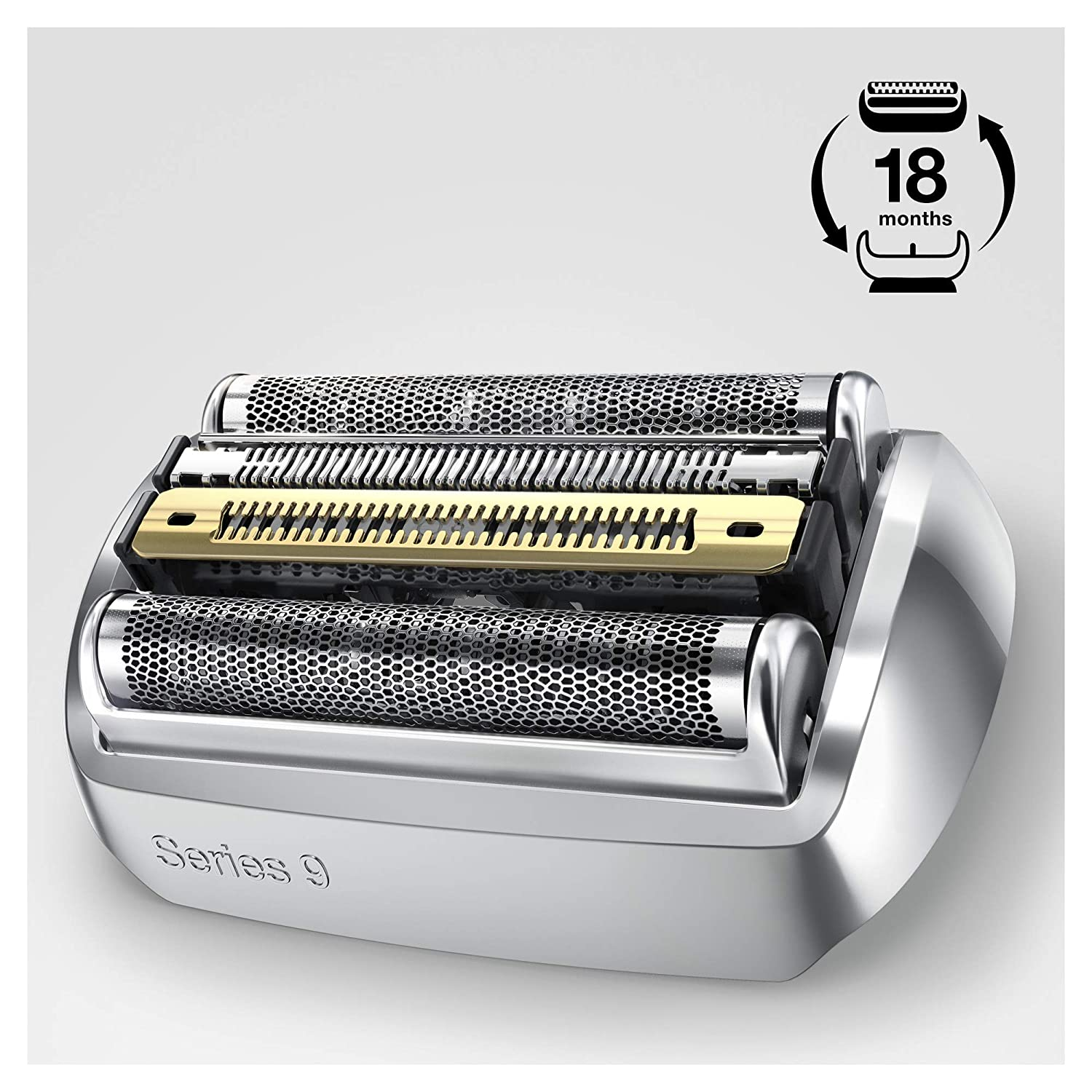 Braun Shaver Replacement Part 92S Silver - Compatible with Series 9 Shavers enlarge