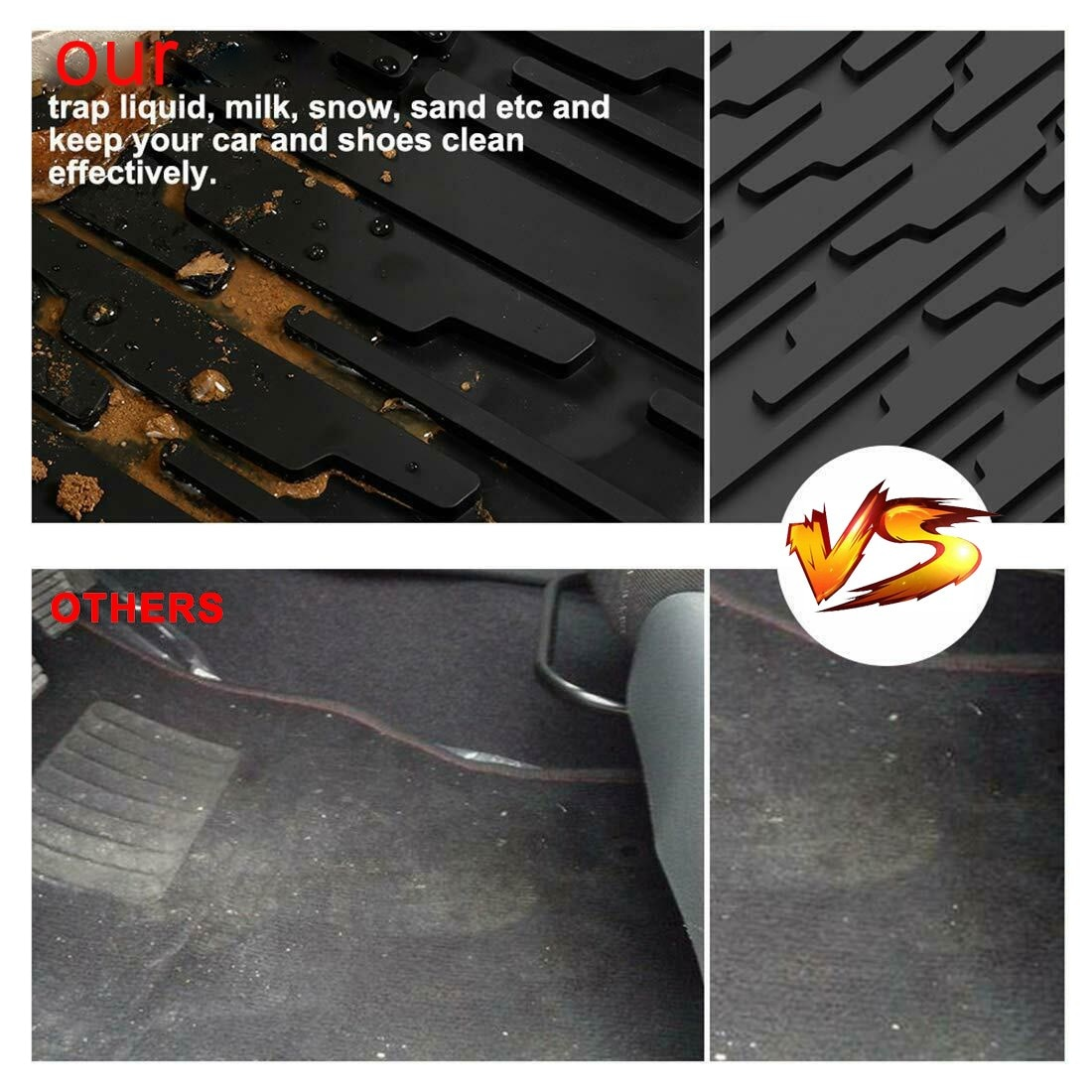Rear Trunk Liner Floor Cargo Tray Mat fit For Wrangler JL Unlimited 2018 2019 2020 Car Accessories Auto Parts enlarge