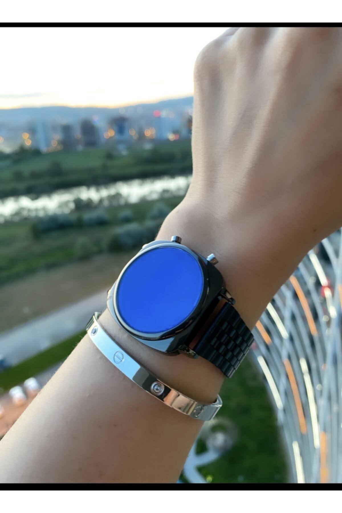 Bay &bayan Çelik Dijital Led Kol Saati enlarge