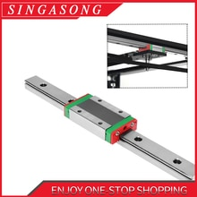 Cnc trilho linear mgn12 mgn15 mgn9 100 200 300 350 400 450 500 600 mm diminuto corrediça de trilho linear para a máquina cnc, impressora 3d