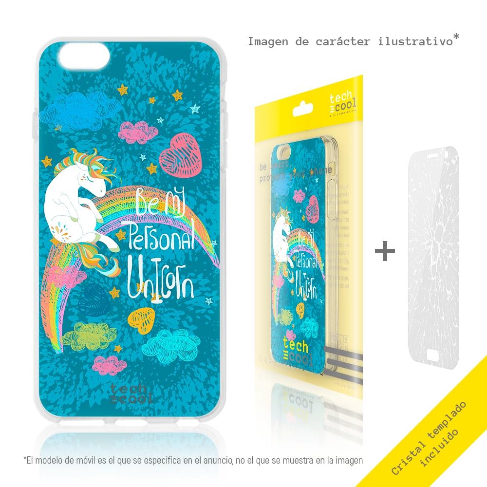 FunnyTech® Funda Silicona para Samsung Galaxy Grand Neo Plus i9060 l Frases Unicornios Diseños Ilustraciones 2