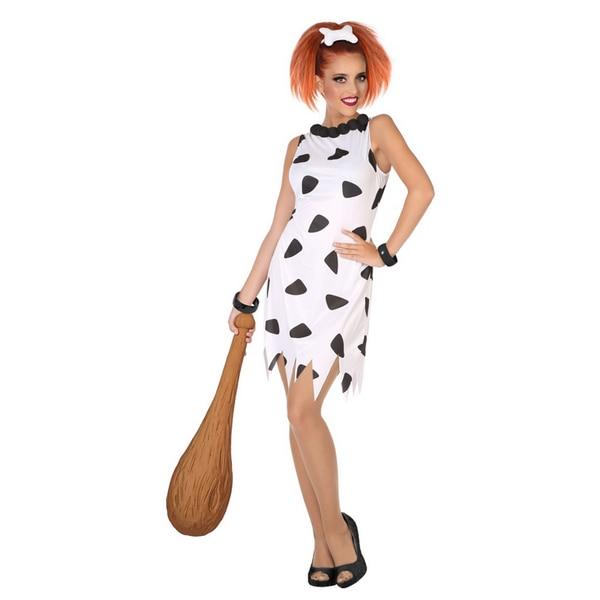 Disfraz para Adultos Cavernícola Blanco (1 Pc)