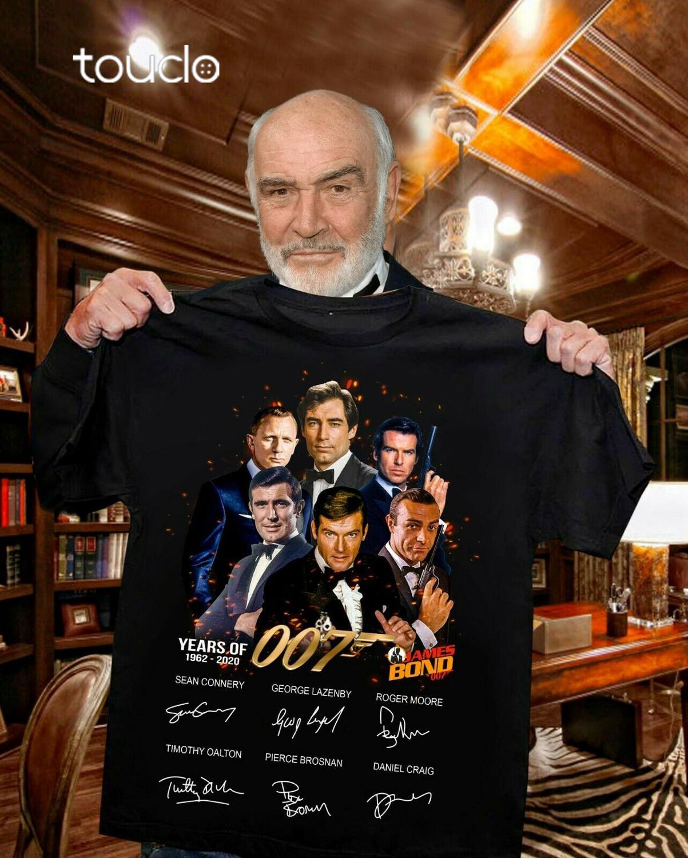 YEARS OF 007 JAMES BOND SHIRT