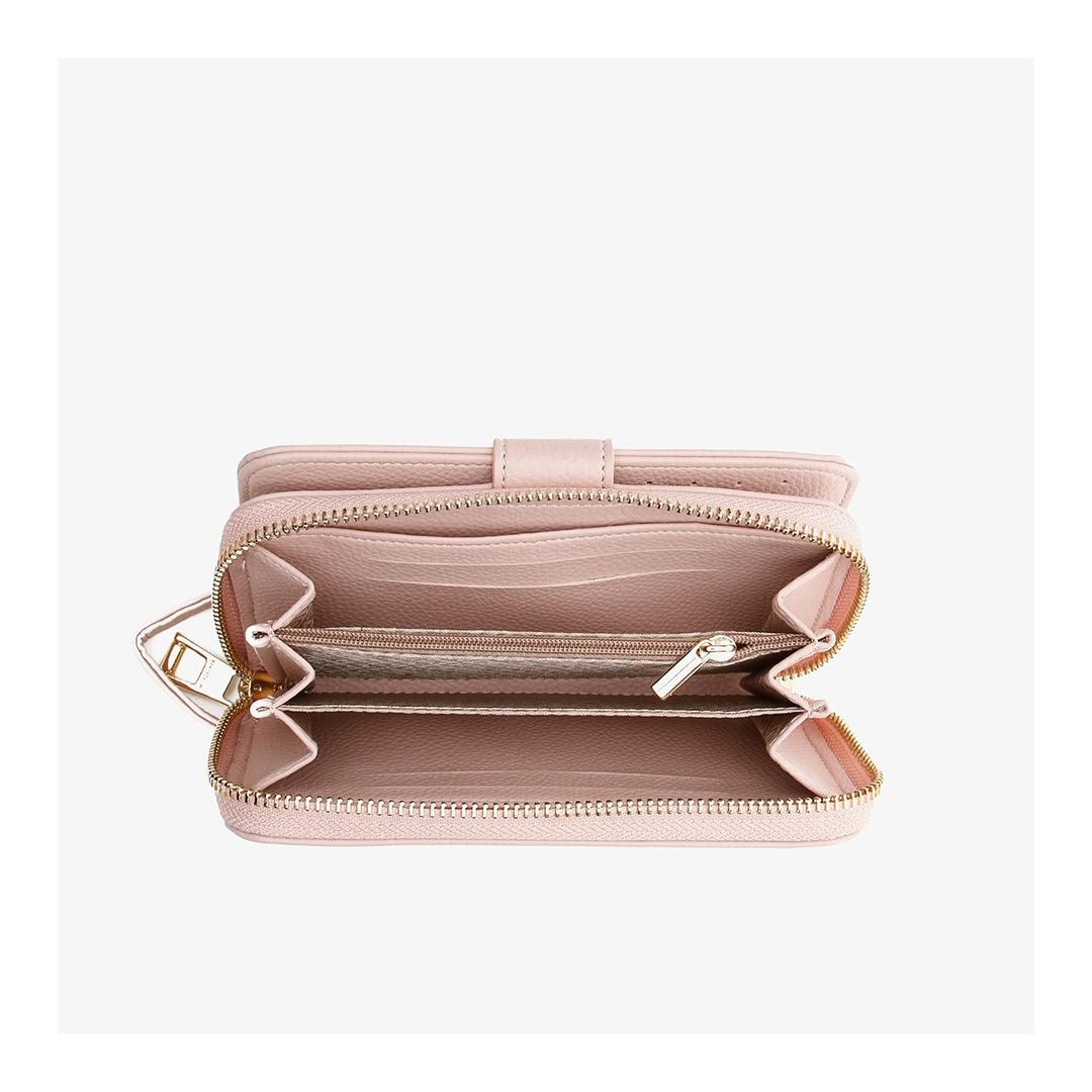 المرأة حقيبة صغيرة أنيقة عادية حقائب اليد الحديثة محافظ بطاقة المحفظة