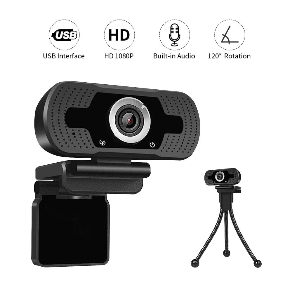 HD Autofokus Webcam 1080P Video Chat PC Computer Laptop Interne Online Klasse Tagungen Video Anruf Web Kamera Mit MIC mikrofon