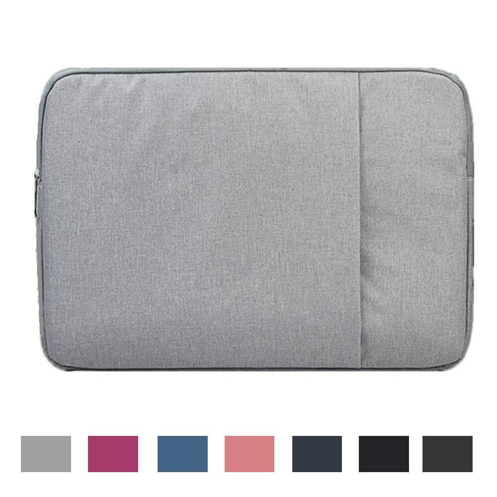 حقيبة كمبيوتر محمول مقاوم للماء 11 12 13.3 14 15.6 17.3 بوصة حافظة لجهاز كمبيوتر محمول MacBook Air Pro 13 ملحقات غطاء حماية من القماش