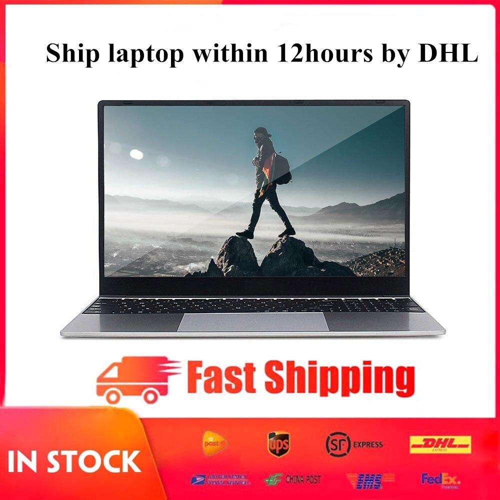 "15.6 ""metall Laptop AMD Ryzen 5 2500U 2,0 Ghz Radeon Vega 8 DDR4 RAM 8G + 512G SSD Notebook Windows 10 Computer HDMI WiFi USB 3,0 TF"