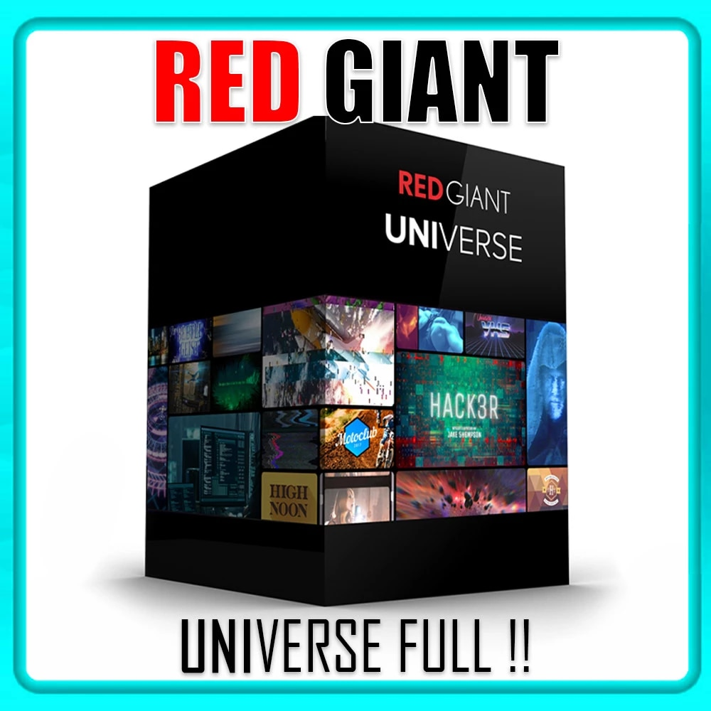 Red Giant Universe For Windows & Macos